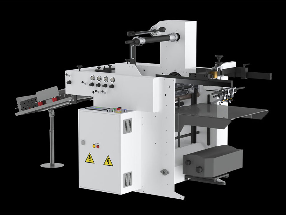 Printing Machine Rendering