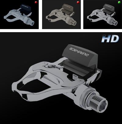 product rendering - trail version and final version HD